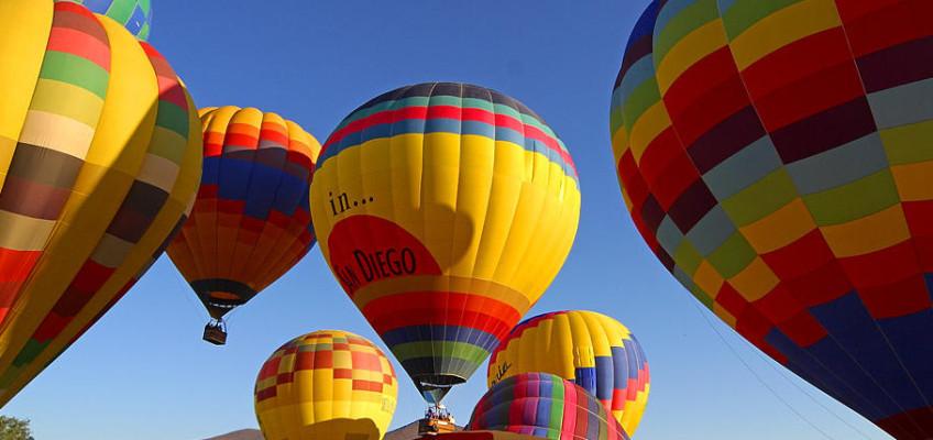 Známá místa z jiné perspektivy – proleťte se balonem!