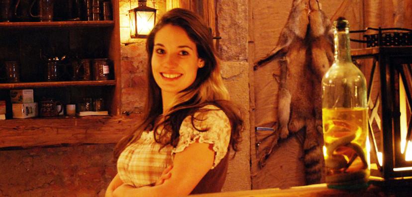 Turisté si oblíbili středověkou krčmu v Dětenicích