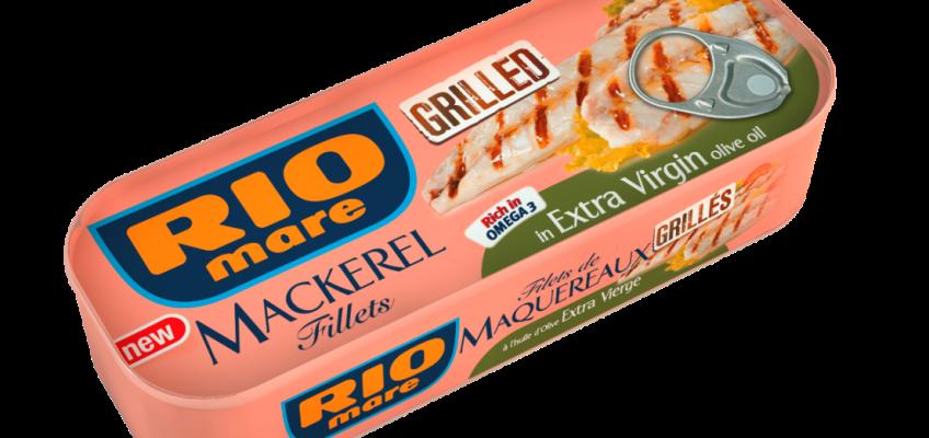 Novinka: Grilované makrely Rio Mare zpestří český jídelníček