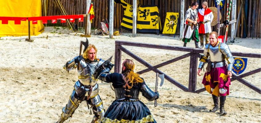 Historie zábavně? V Dětenicích probíhají po celý srpen rytířské turnaje pro děti zdarma