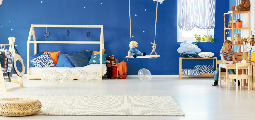 Odborníci doporučují do dětského pokoje koberec. Proč a jak vybrat ten správný?