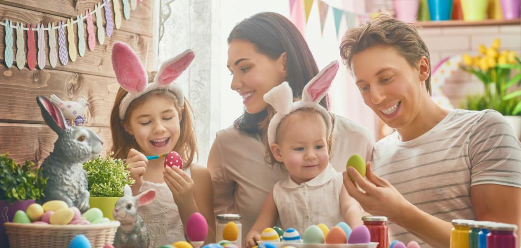 Jaro je tu a blíží se Velikonoce. Naplánujte zábavný program pro celou rodinu Creative Commons (shutterstock.com)