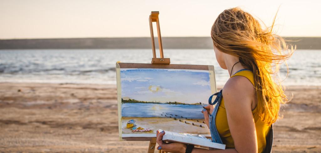 Kreativní tvoření uvolní mysl a zažene chmury Creative Commons (shutterstock.com)