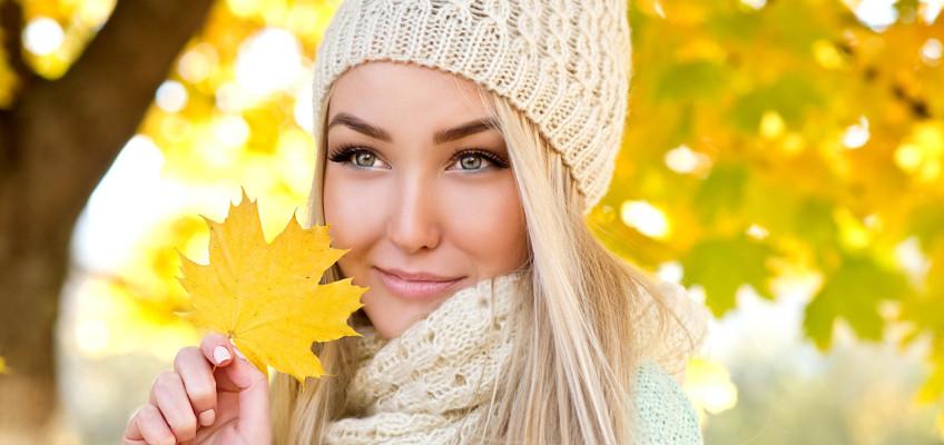 Podzim spolu se sychravým počasím klepají na dveře, připravte svou pleť na nadcházející roční období