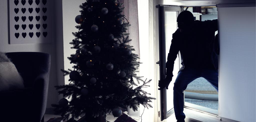 Nepodceňujete zabezpečení vašeho domova zloději řádí i mezi svátky Creative Commons (shutterstock.com)