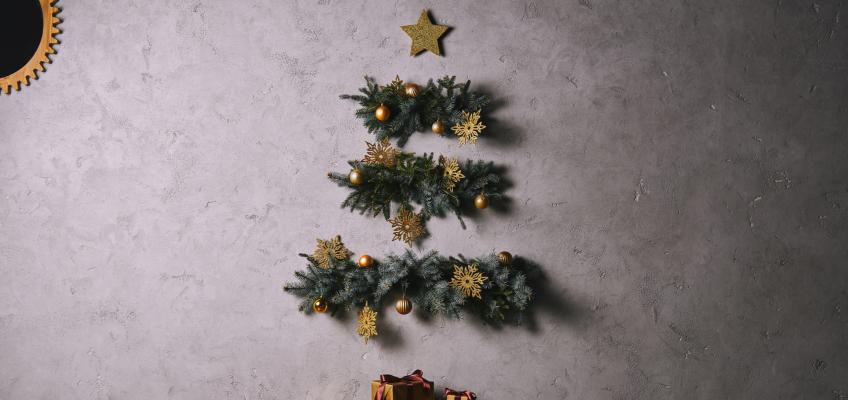 Tři tipy na neobvyklý vánoční stromek