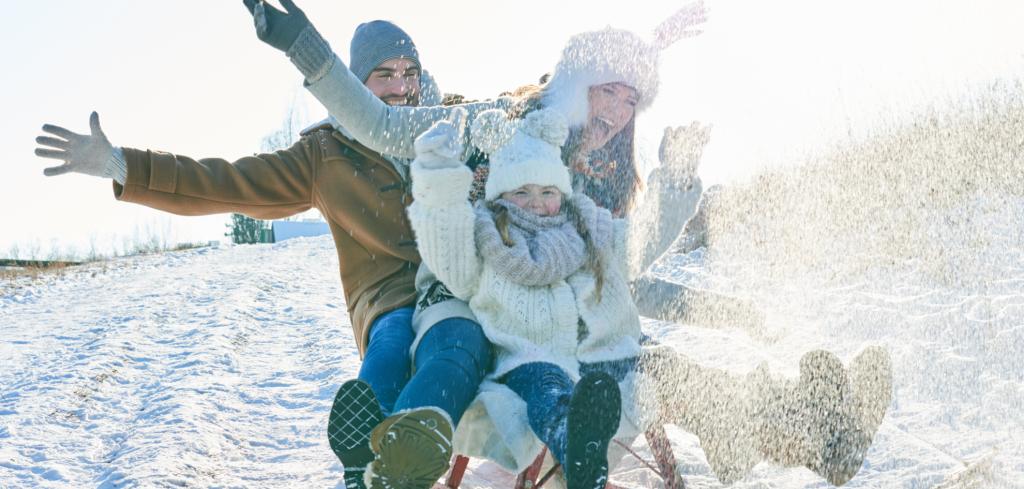 Leden, za kamna vlezem. Nebo ne. Užijte si zábavu a zážitky i v zimě Creative Commons (shutterstock.com)