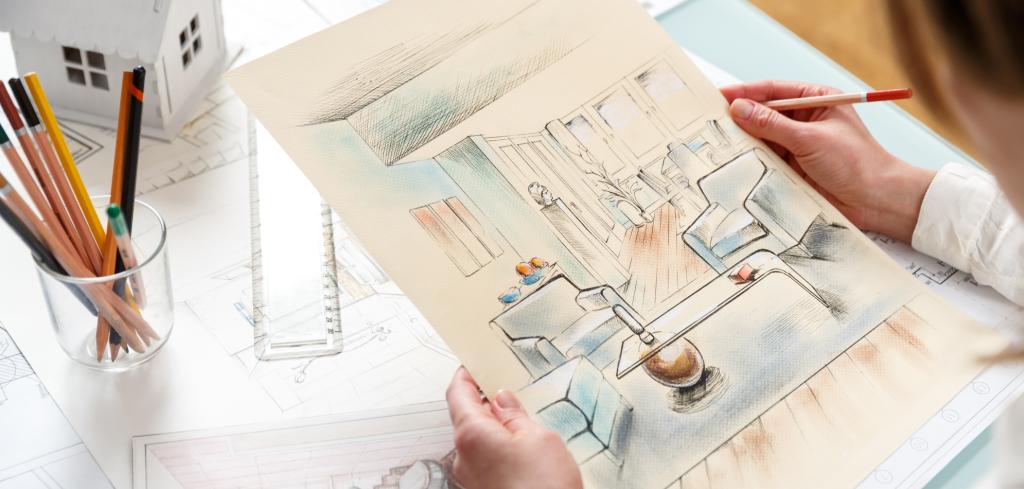 Nejžhavější designové trendy na rok 2020 prozrazuje interiérová designérka Anke Glut Creative Commons (shutterstock.com)