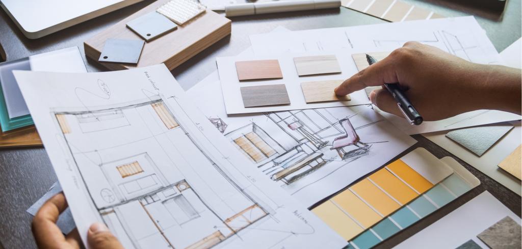Využijte na rekonstrukci bytu služby interiérového designéra. Řekneme vám, proč se to vyplatí! Creative Commons (shutterstock.com)