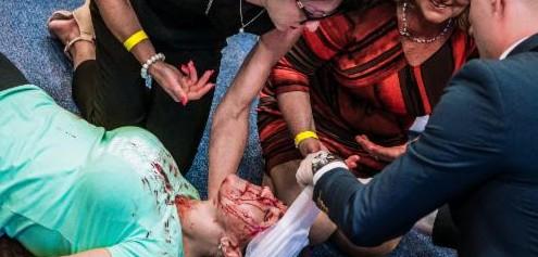 Interaktivní aplikace Ve vteřině umožní lidem vyzkoušet si záchranu člověka v ohrožení života