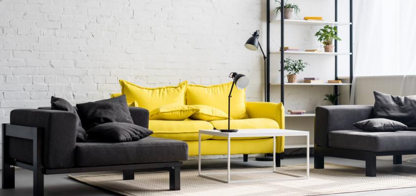 Vneste do svého domova barvu slunce. Jak pracovat v interiéru se žlutou?