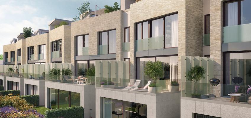 Luxusní vily v srdci budoucí Libuš lákají i mimopražské